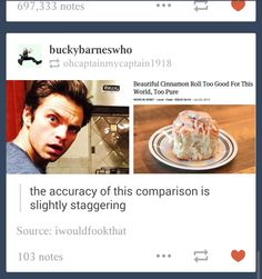 Stan/Bucky is a beautiful cinnamon roll, too good for this world