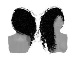 BELLATRIX Hair for The Sims 4