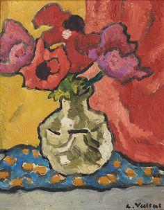 Bouquet of Flowers.  Louis Valtat