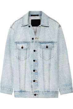Alexander Wang | Daze oversized denim jacket | NET-A-PORTER.COM