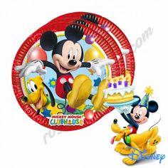 Mickey Playful Kağıt Tabak  - Paket içi ürün sayısı 8 adet - Ürün ölçüleri 23 cm - Gıda ile teması uygundur - Doğada çözülebilir - Yıkama derdi ve kırılma korkusu yok - Tamamen temiz, şık ve lisanslı bir üründür - Sizde partilerinize görsel bir şölen katarak farklı kılın - Kredi kartı, Banka havalesi ve Eft ile ödeme imkanı