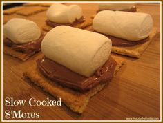 Slow Cooked Smores