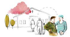Illustration for the newspaper Dagen. Mattias Käll.