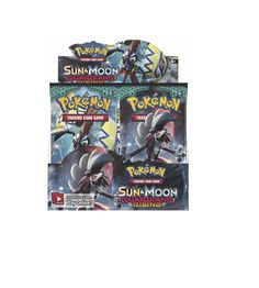 Pok mon Sealed Booster Packs 4301: Pokemon Tcg Sun And Moon Guardians Rising Booster Sealed Box - English - Pre-Order -> BUY IT NOW ONLY: $90.99 on eBay!