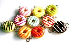 Clay Donut Charms