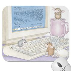 """Mouse Pad 9 x 8 x 1/4"" from House-Mouse Designs / www.house-mouse.com - (PAD-9709). This item was recently purchased off from our web site, www.house-mouse.com. Click on the image to see more information."