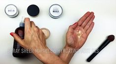 This short video shows you how to easily turn your beloved mineral makeup powdered foundation into a full coverage liquid foundation.  This works wonders for folks with dry or mature skin who may feel powdered foundation is too dry and accentuates flaky skin or settles into fine lines.  You can still enjoy the purity and preservative free awesomeness of mineral makeup by mixing it with liquid immediately before applying.