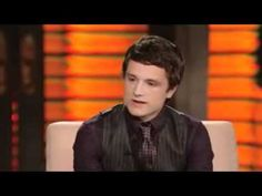 Possibly the cutest interview I've seen of Josh Hucherson. Yes, it's two years old and he doesn't mention the Hunger Games but I think that it shows off his fun personality so well. He's going to be a great Peeta.