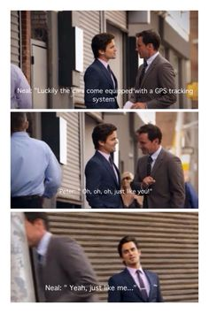 Oh Neal, you are exactly like a Ferrari! Gotta love White Collar! (Season 2 episode 7 13:09)