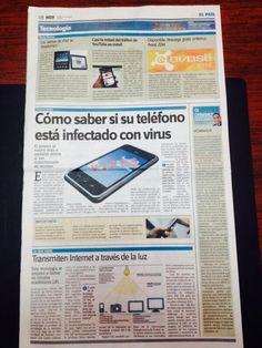 Busquen nuestra página #Tecnologia del Periodico Hoy estos los temas que abordamos.
