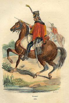 File:Napoleon Hussard by Bellange.jpg