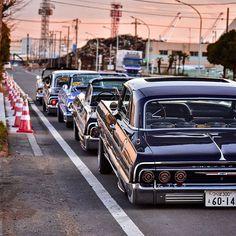 64 Impala Lowrider, Lowrider Trucks, Chevrolet Chevelle, Chevrolet Impala, Vintage Sports Cars, Retro Cars, Vintage Cars, Arte Lowrider, Hydraulic Cars