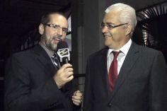 Aniversário do Regatas - Claudinei Corsi e Prof. Campos.