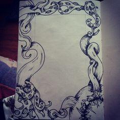 Artist - The Griz Medium - ink over pencil on paper