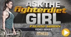 Ask The Fighter Diet Girl Pauline Nordin: Big Butt With Skinny Legs, Picking A Protein Powder