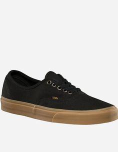 Vans - Authentic Light Gum black