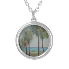 FLAGLER BEACH PALMS Necklace