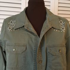 New Direction ladies shirt with sparkles Perfect like new condition. My Closet Offers❤️25% off bundle of 2 or more. new directions Tops Blouses