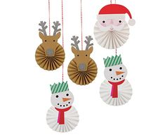 These delightful pinwheel decorations come in 3 styles, each a Christmas character including Santa, reindeer and a snowman. They will add a fun festive feeling to any holiday celebration. Embellished with silver glitter. Christmas Activities, Christmas Crafts For Kids, Christmas Projects, Simple Christmas, Kids Christmas, Handmade Christmas, Holiday Crafts, Christmas Gifts, Christmas Ornaments