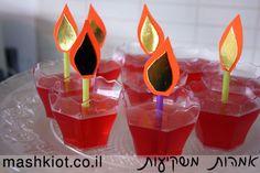 נרות אכילים לחנוכה מאת סיגל מירון - קבוצת אמהות משקיעות