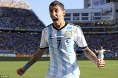 Ready to leave: Di Maria's deflated relationship with Real president Florentino Perez helped him leave Spain