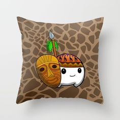 Wild Cumi Throw Pillow by goatgames Goat Games, Indie Games, Goats, Africa, Throw Pillows, Toss Pillows, Cushions, Decorative Pillows, Decor Pillows