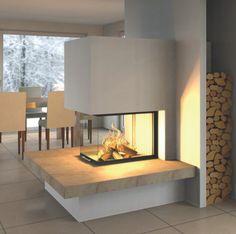 Bildergebnis für feuertisch naturstein Home Fireplace, Fireplaces, Design Inspiration, Indoor, Fire Places, Trendy Tree, Home, Natural Stones, Living Room