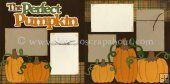 The Perfect Pumpkin Scrapbook Page Kit