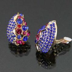 Teardrop Shaped Clip-on Earrings Fe17458-e3114 Arif's Collection. $18.85. Earrings
