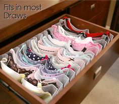 Como lavar soutien With Boobie Trap Bra Storage System (how our drawer should look) The best way to look after your bras and tidy your drawer! Bra Organization, Wardrobe Organisation, Underwear Organization, Bedroom Organization, Bra Storage, Closet Storage, Lingerie Storage, Closet Bedroom, Room Decor Bedroom