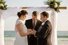 Wedding Ceremony at fineart30aweddingreception... #santarosabeachweddings #destinflweddings #graytonbeachflweddingsSeaside Florida, Seagrove Beach, Watercolor Florida, Sandestin Florida, Santa Rosa beach Fl