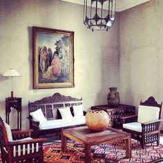 Interiors. La Gazelle d'Ore #maroc #chic