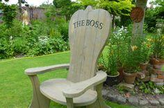 The Boss garden chair