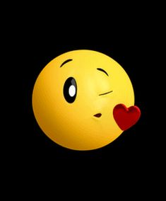 The perfect Smiley Emoticon Kiss Animated GIF for your conversation. Discover and Share the best GIFs on Tenor. Smiley Emoji, Kiss Emoji, Emoji Faces, Bisous Gif, Coeur Gif, Emoji Love, Love Smiley, Emoji Symbols, Love Images
