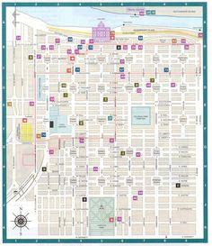 Map of Savannah GA – Fashion dresses Savannah Map, Downtown Savannah, Visit Savannah, Savannah Georgia, Savannah Restaurants, Chicago Restaurants, Savannah Historic District, Tybee Island, Down South