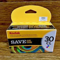 Kodak Colour Ink cartridge All In One Inkjet Printers New Sealed ESP Office Ink Cartridges, Inkjet Printer, Printers, I Shop, All In One, Ebay
