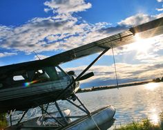 Alaskan Summer - Float Plane - Anchorage Sunset