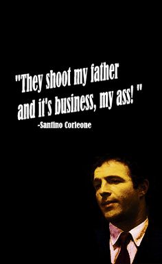 Image of: Godfather Movie The Best Quotes From The Godfather Pinterest 151 Best Quotes From The Godfather Images Godfather Quotes