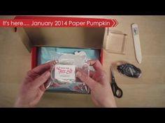January 2014 Paper Pumpkin Kit