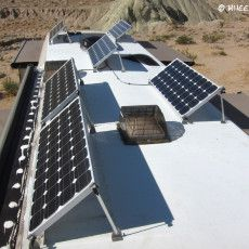 RV Solar Part IV – Panel Tilting & Winter Solar Optimization