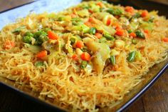 Manila Spoon: Pancit (Philippine Noodle Dish)