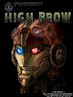 Transformer HFTD Highbrow by ~capcomkai2008 on deviantART