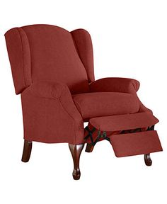 Andy Recliner Chair, Queen Anne Style - Recliners - furniture - Macy's