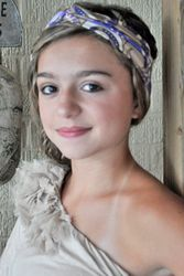 Purple Print Nellie $15 #headband #clothheadband #hairstyles #accessories