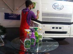 Keep on #Trucking the Pearl Waterless #EcoFriendly way