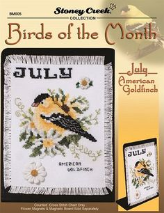 Bird of the Month - July (American Goldfinch) – Stoney Creek Online Store