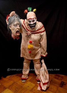 Super Creepy Handmade Twisty Costume from American Horror Story... Coolest Halloween Costume Contest
