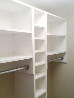 Built In Closet Shelving Ideas