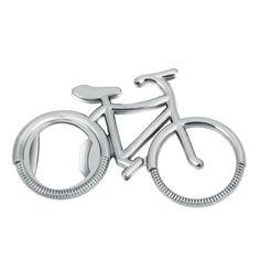 1PCS Cute Fashionable Bike Bicycle Metal Beer Bottle Opener keychain key rings for bike lover biker Creative Gift for cycling