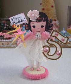 Vintage Inspired Birthday Keepsake